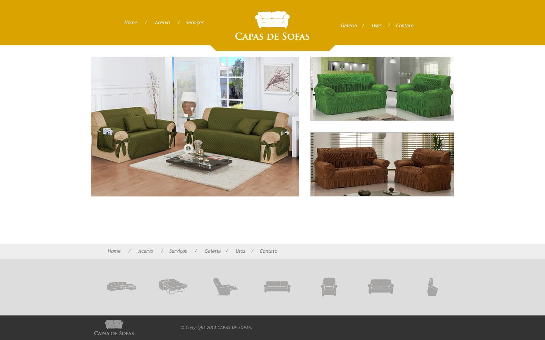 Site Capas de Sofas